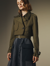 Derek Lam 10 Crosby 2-in-1 Trench Coat
