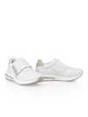 Marc Cain Leather Trainers with Touch Fastening - Fieldstone - Pre-Order