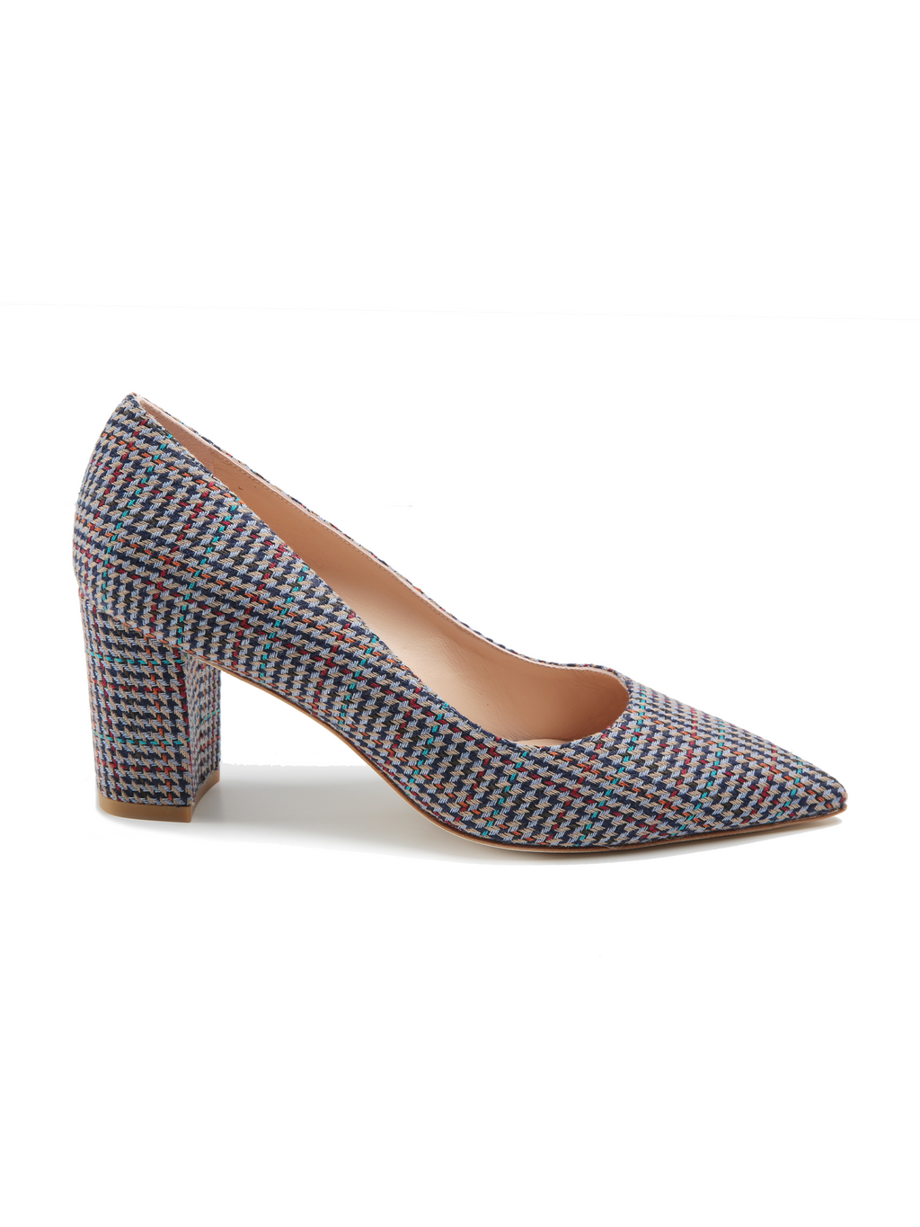 Stuart Weitzman Laney 75 Plaid Pump