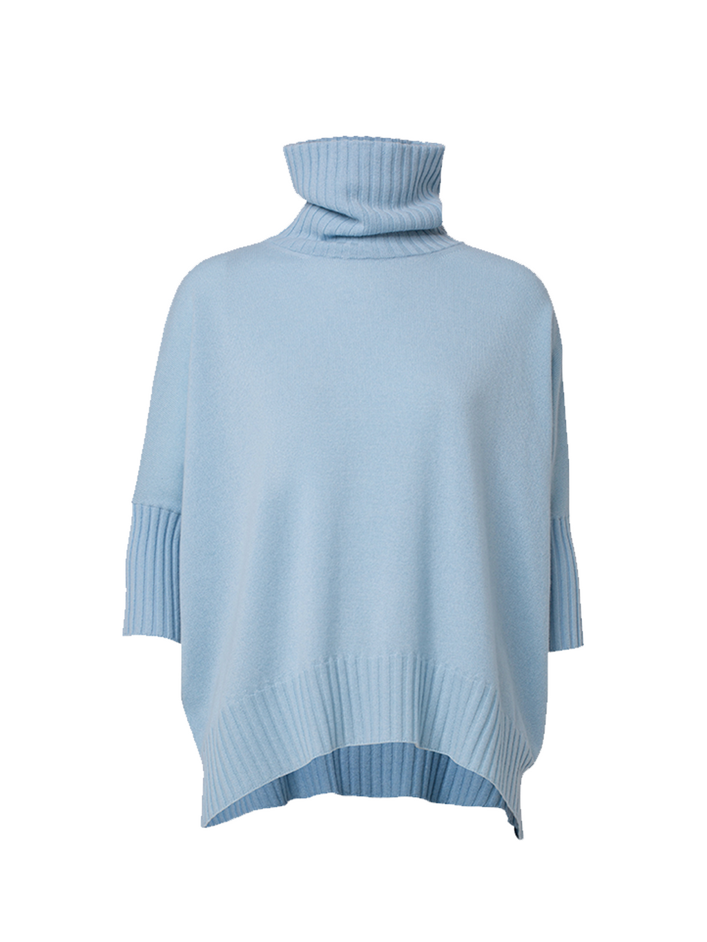 Dorothee Schumacher Soft Edge Turtleneck Short Sleeve Sweater