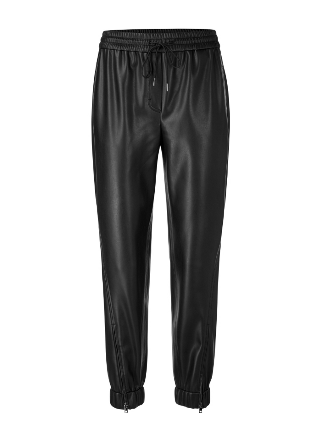 Marc Cain Faux Nappa Leather Pants