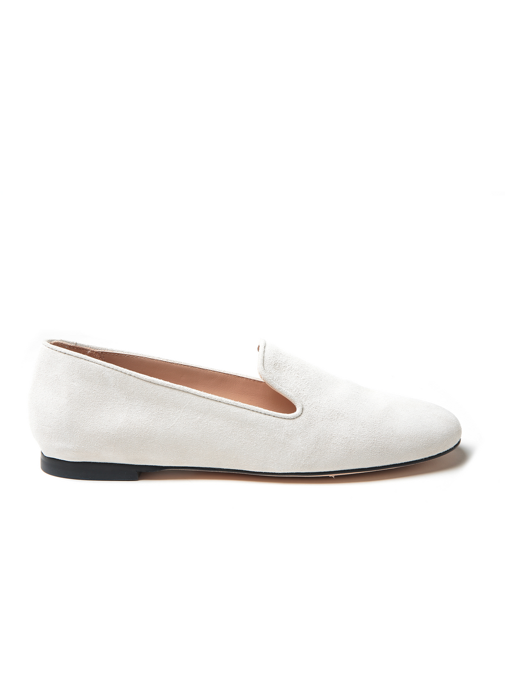 Stuart Weitzman My Guy Suede Loafer - Oyster