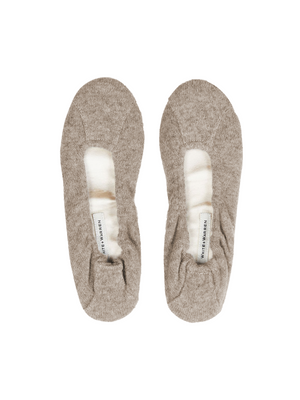 White + Warren Cashmere Ballet Slipper
