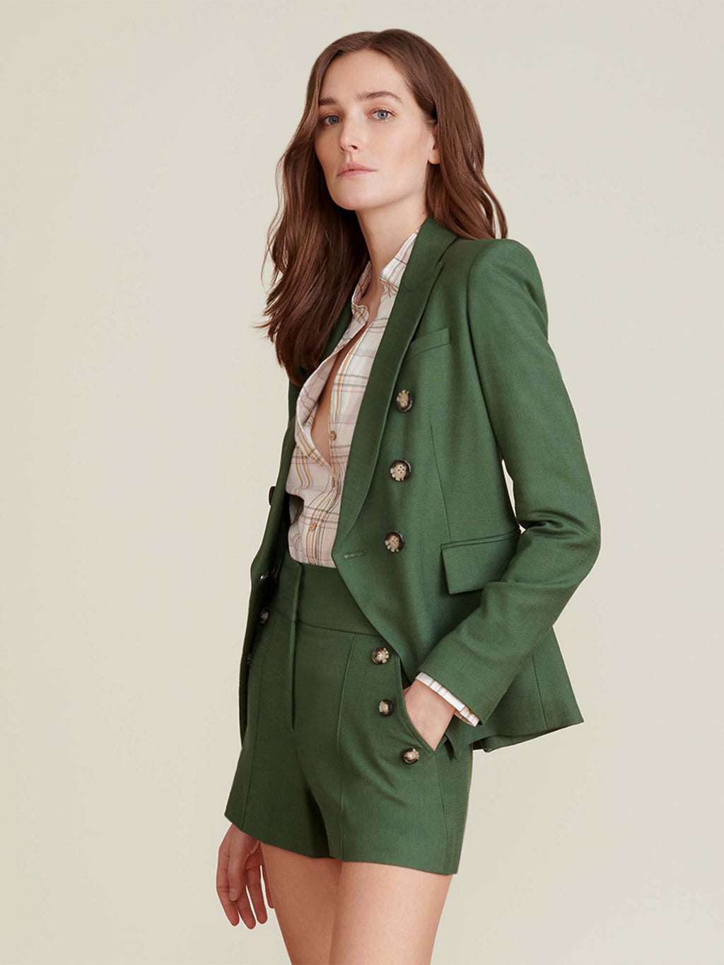 Veronica Beard Miller Dickey Jacket - Ivy