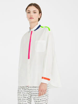 Max Mara Weekend x Donald Robertson Canneti Poplin Button Down