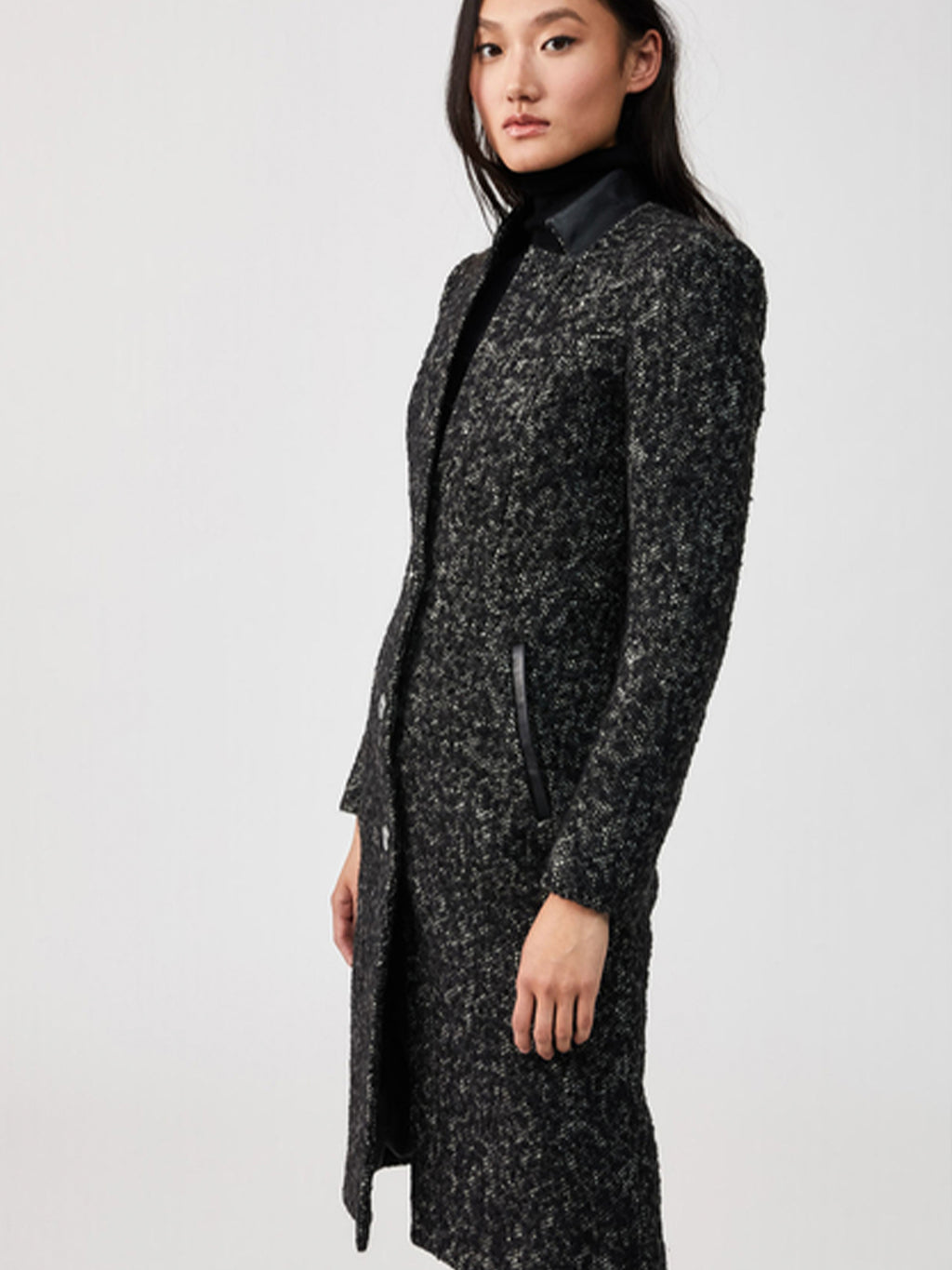 Mackage Bianca Tweed Coat