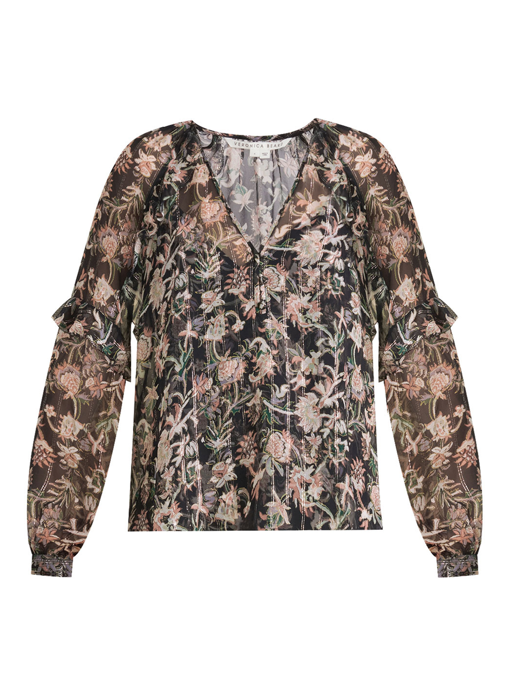 Veronica Beard Zanita Floral Top