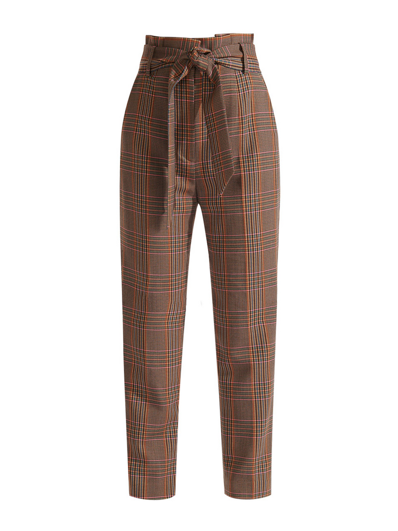 Veronica Beard Clerence Plaid Pant