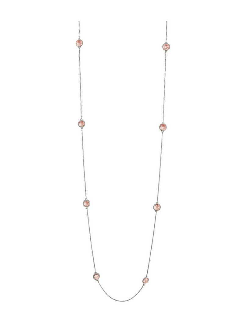 Dean Davidson Mar Charm Necklace -Morganite - Pre-Order