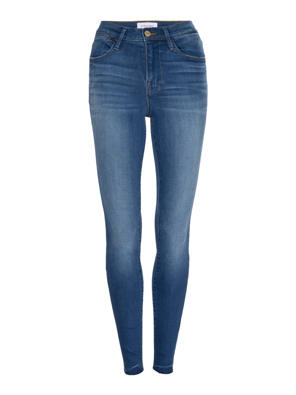 Frame Le High Skinny Raw Edge Jean - Ambrose