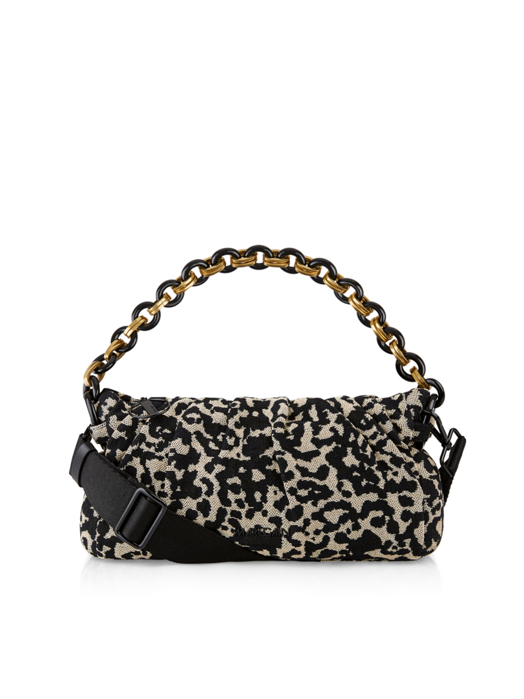 Marc Cain Satchel Handbag with Leopard Pattern - Pre-Order