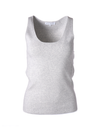 White + Warren Stretch Ribbed Layering Tank
