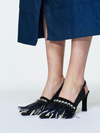 Dorothee Schumacher Jazz it Up Pump with Feather Harness