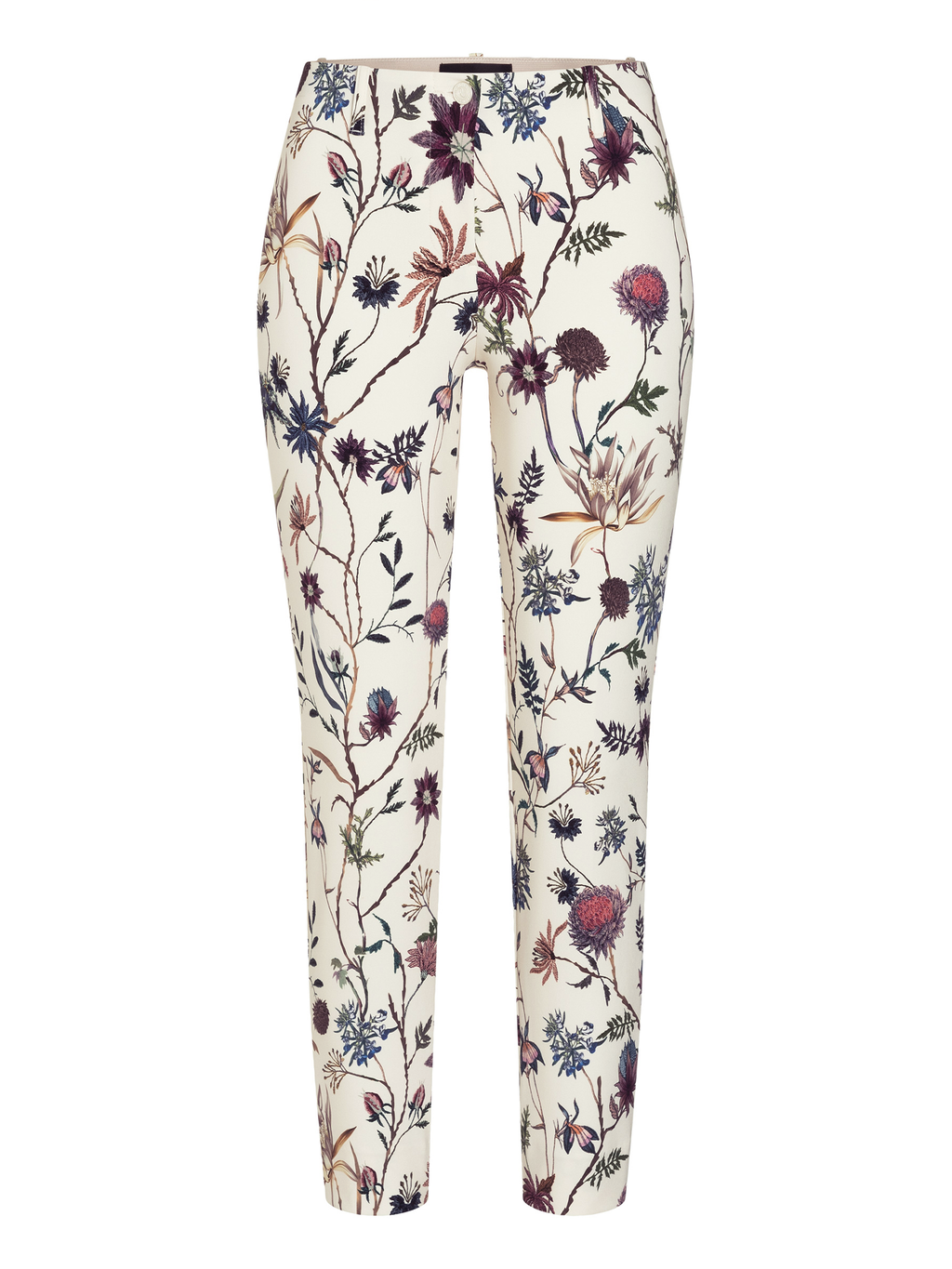 Cambio Ros Summer Floral Cropped Pant