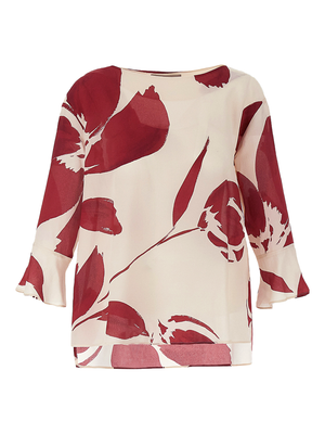 Marella Ivana Blouse with Ruffle Sleeves