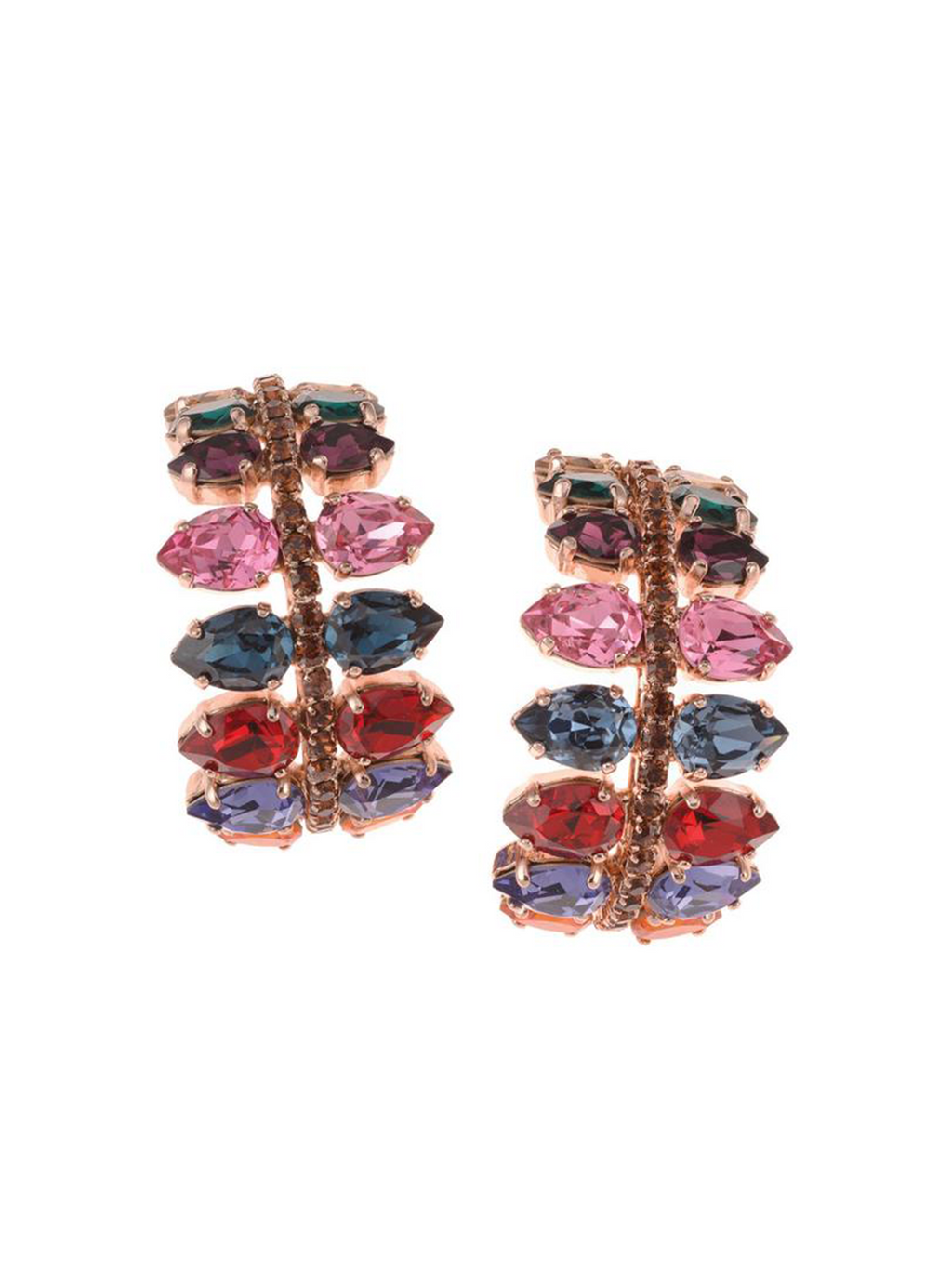 Rebekah Price Ellen Earrings - Rose Gold