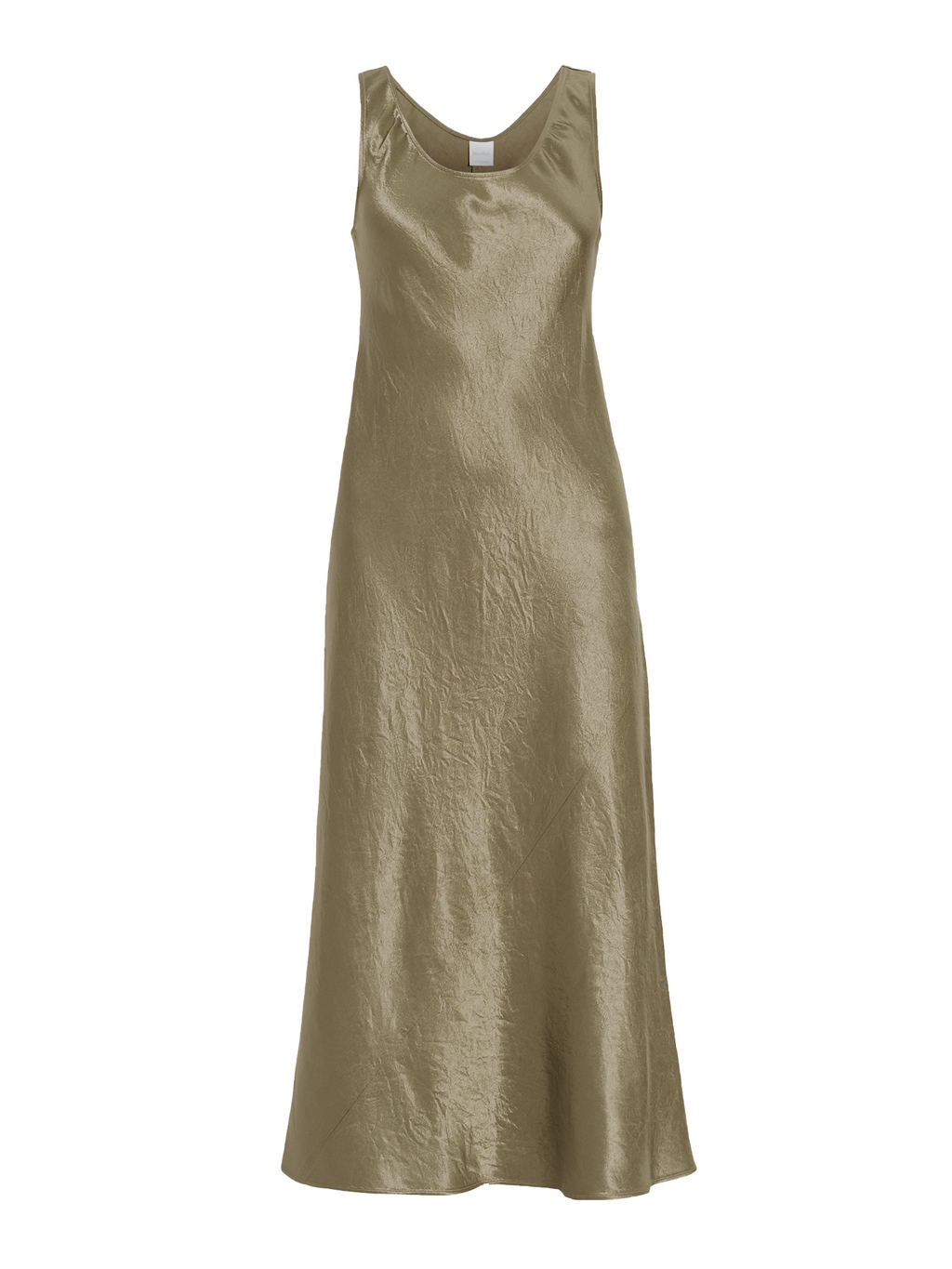 Max Mara Leisure Talete Washed Satin Dress
