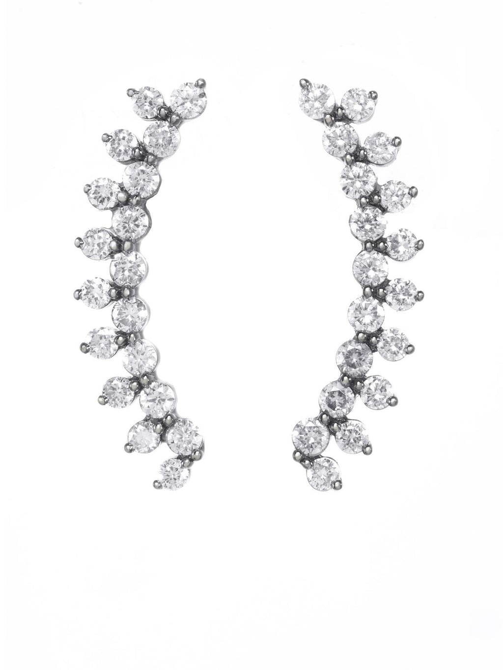 Margo Morrison Diamond Ear Crawler Earrings