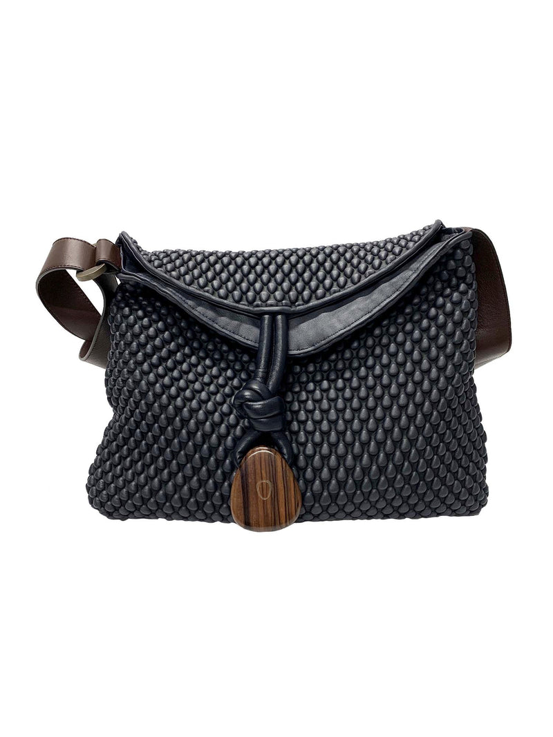 Tissa Fontaneda Biker Chic Bag Small - Marine Metal