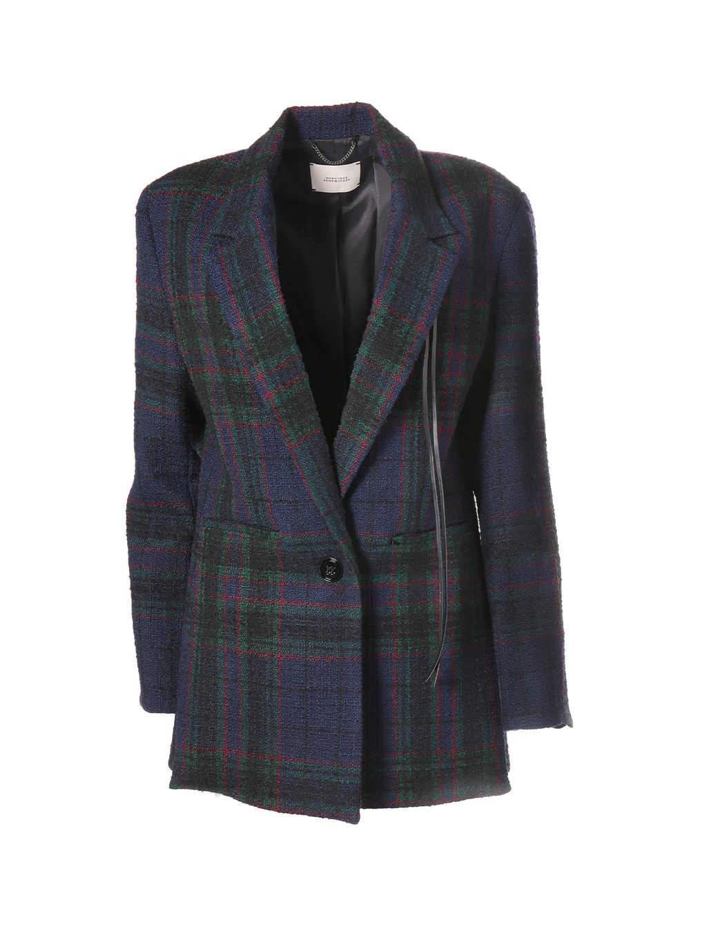 Dorothee Schumacher Tweeted Check Jacket - Tartan Plaid