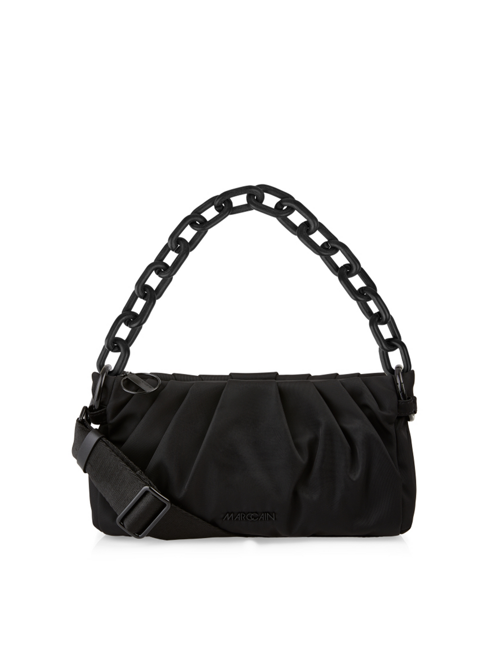 Marc Cain Nylon Handbag with Chain Detail - Pre-Order
