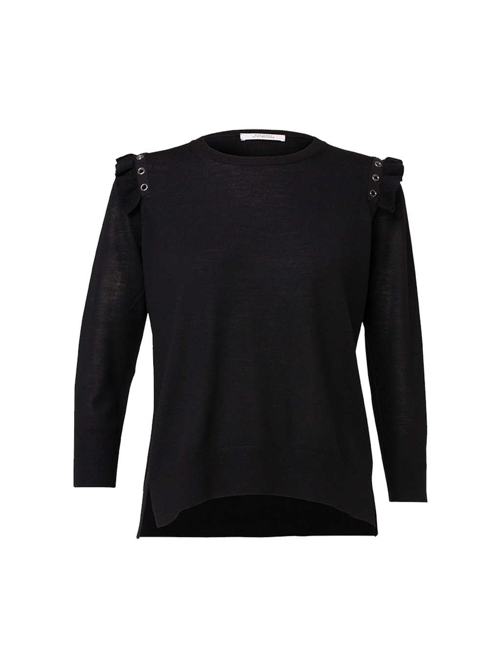 Dorothee Schumacher Tough Femininity O-Neck Pullover Sweater