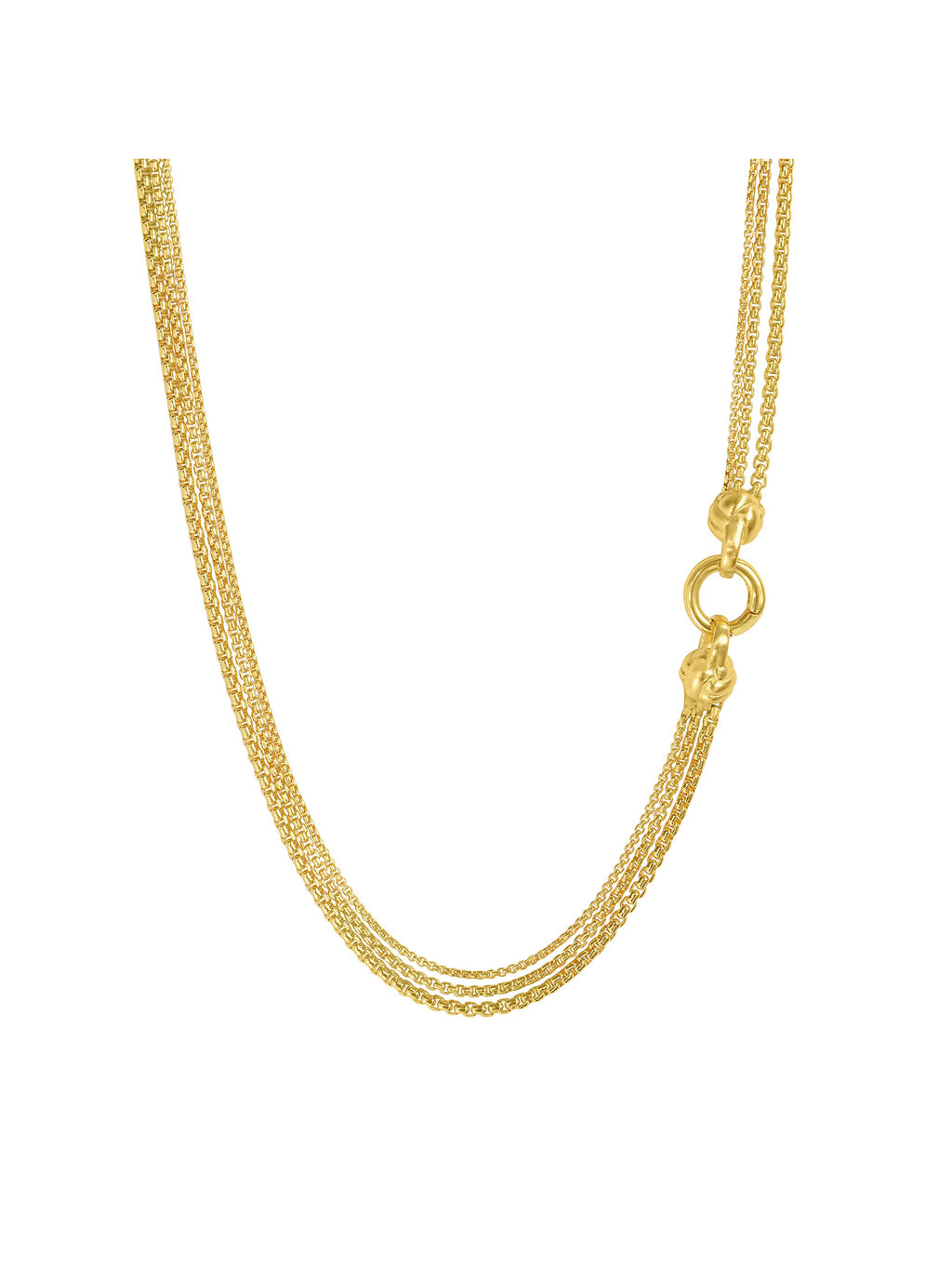 Dean Davidson Bali Weave Braided Chain Necklace - Gold