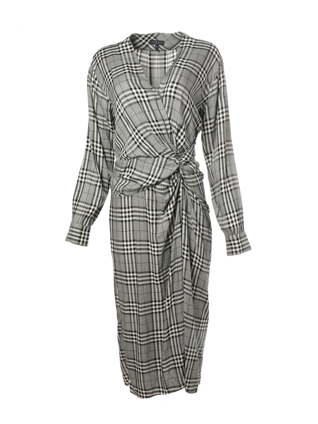 Rag & Bone Amber Midi Wrap Dress