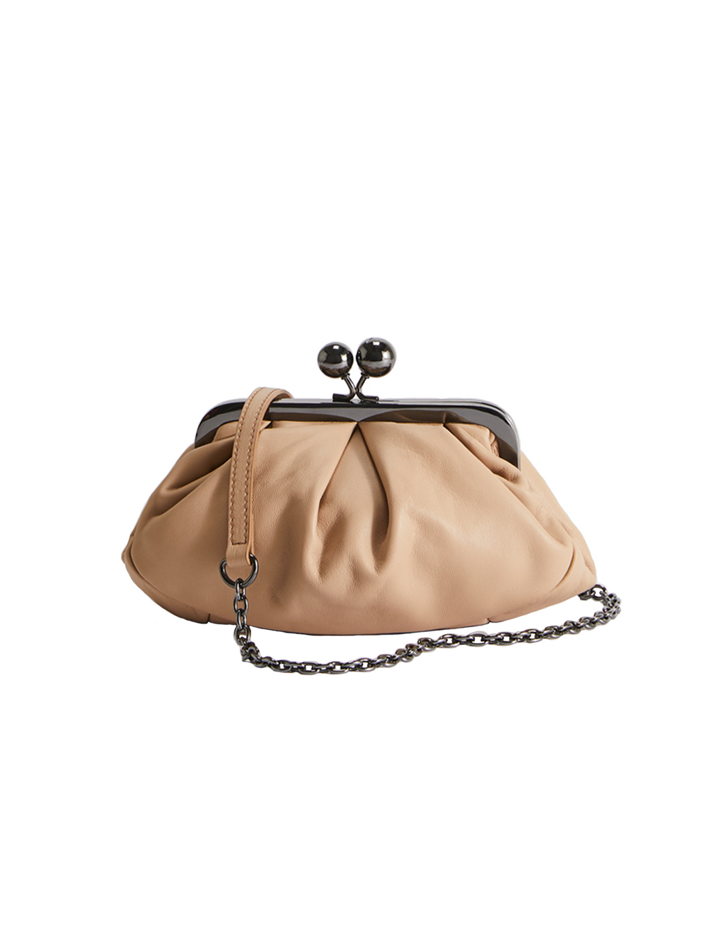 Max Mara Weekend Prati Pasticcino Nappa Leather Bag