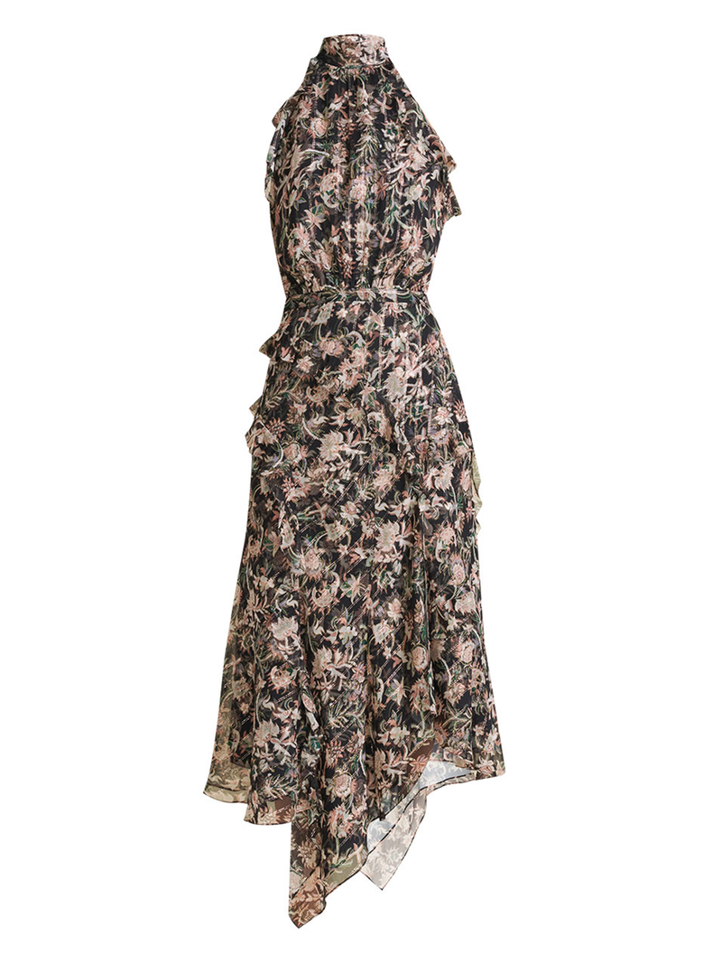 Veronica Beard Kailey Floral-Print Midi Dress
