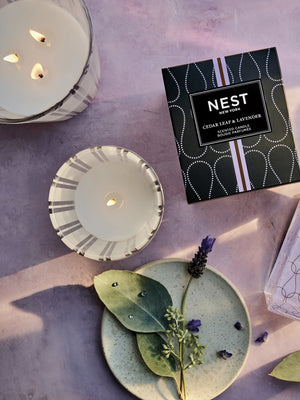 NEST Fragrances Reed Diffuser, Cedar Leaf/Lavender