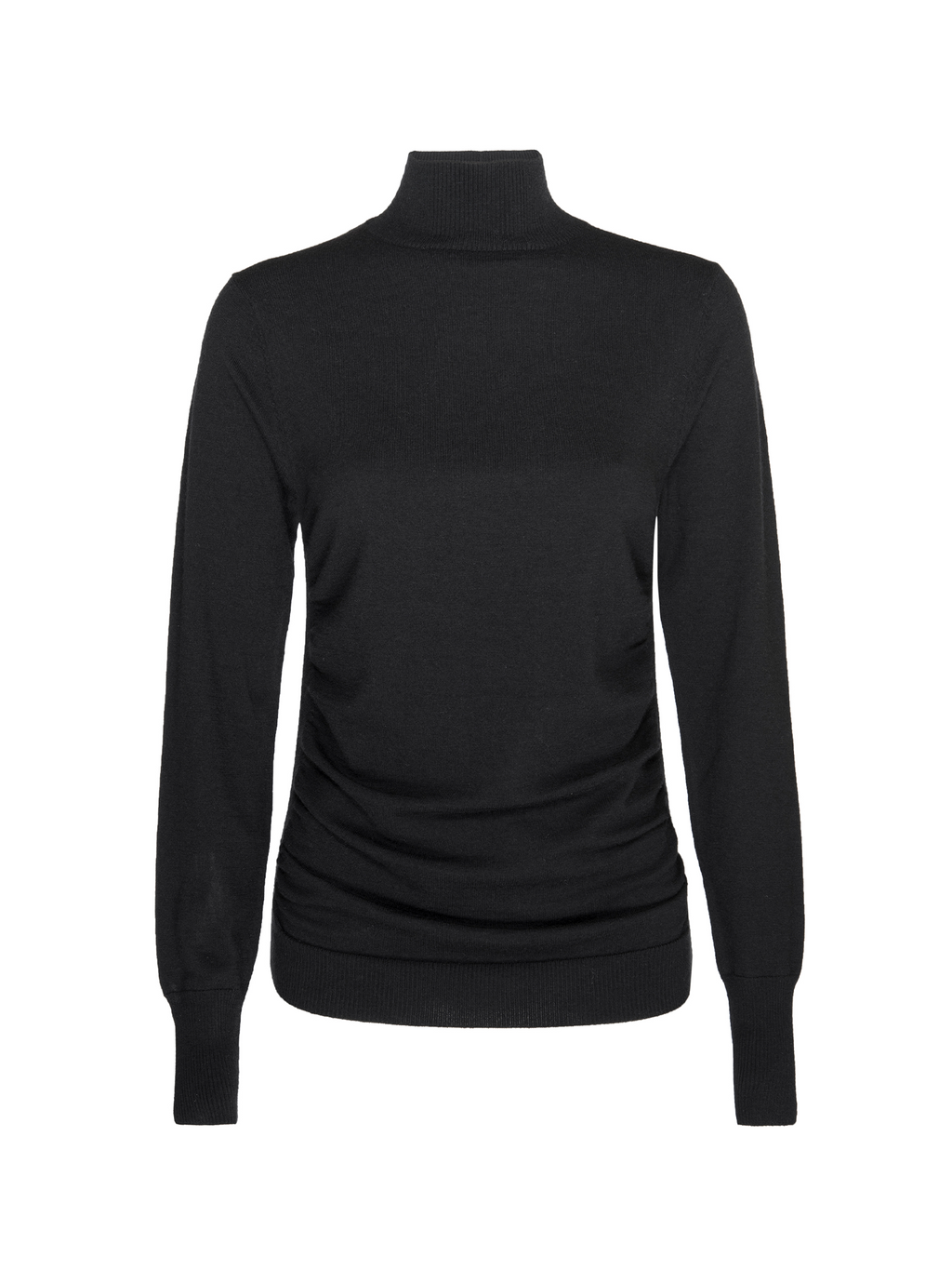 Frame Luxe Turtleneck Sweater Noir