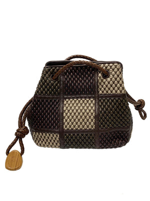 Tissa Fontaneda Bucket Bag Large - Chocolate Bar