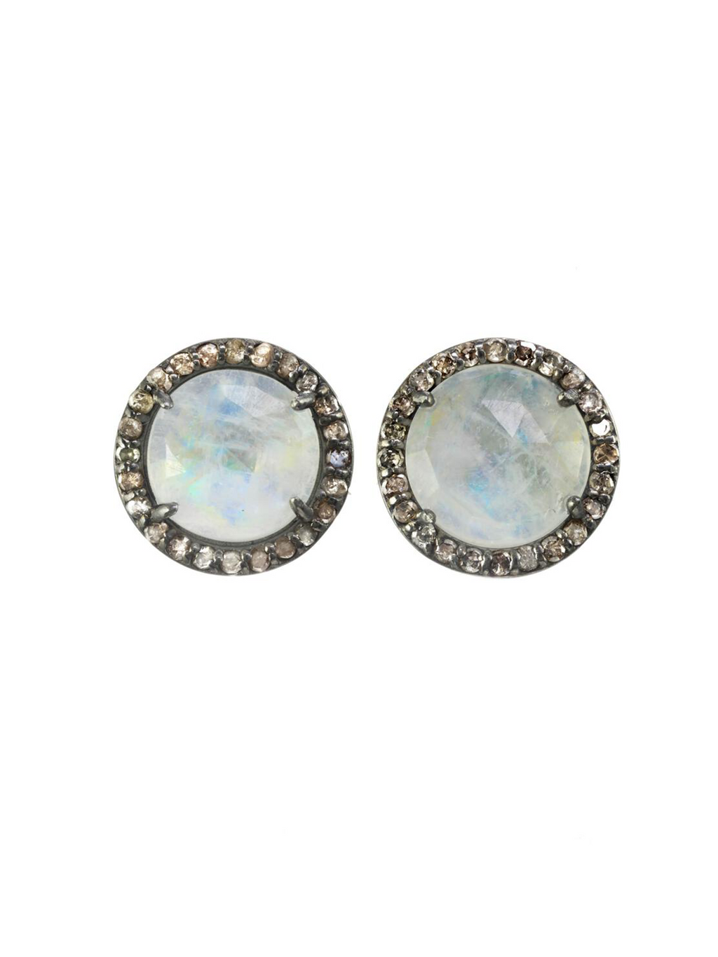 Margo Morrison Faceted Rainbow Moonstone