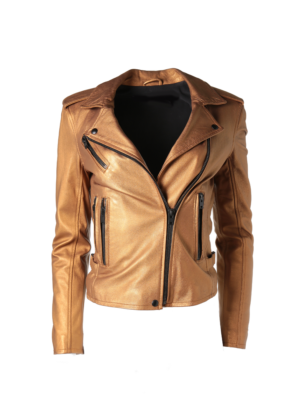 IRO Newhan Leather Biker Jacket