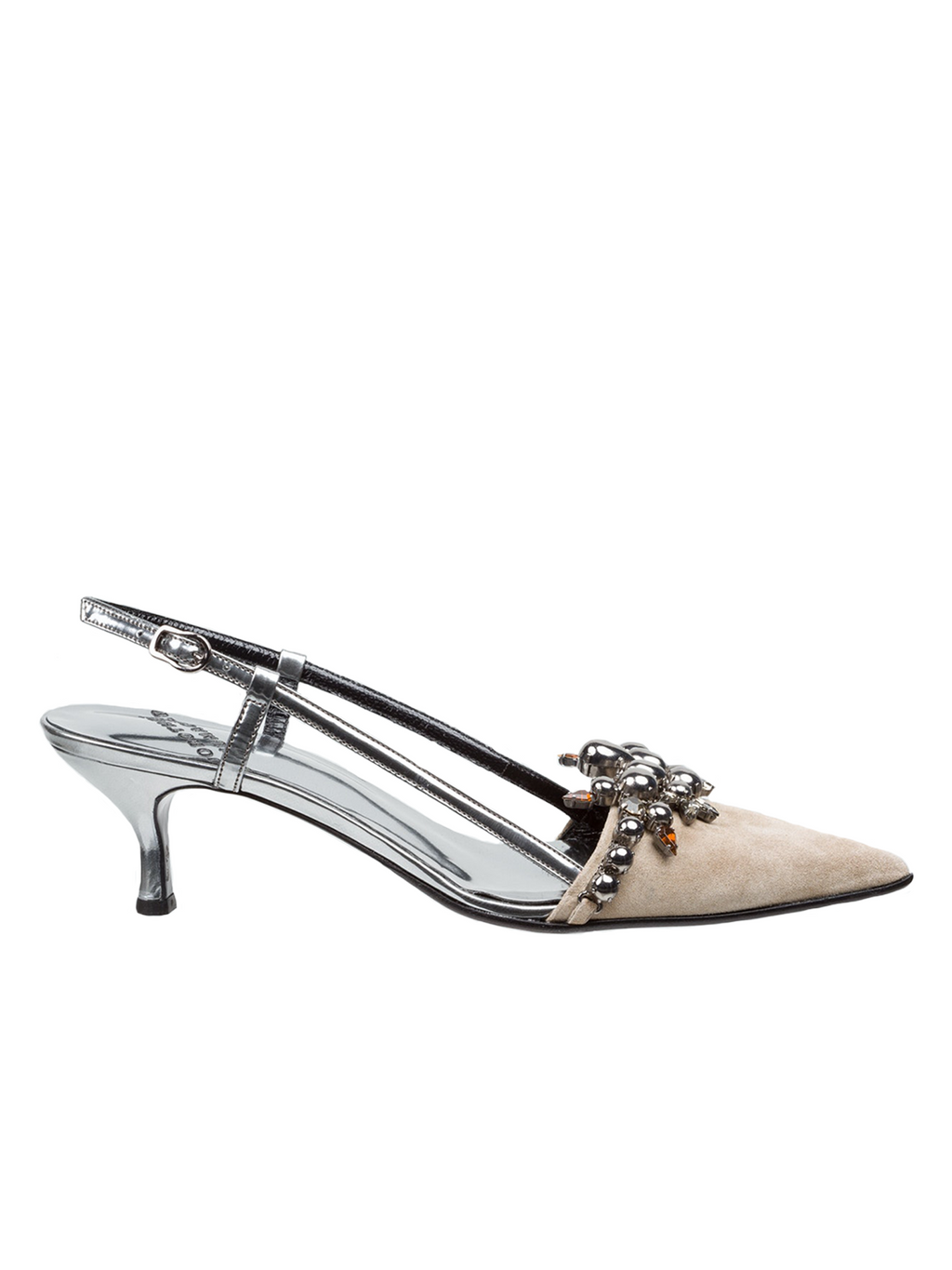 Dorothee Schumacher Chic Summer Kitten Heel