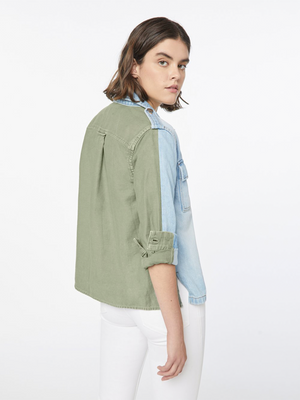Frame Le Shirt Jacket Cargo Mix - Canteburry Gate