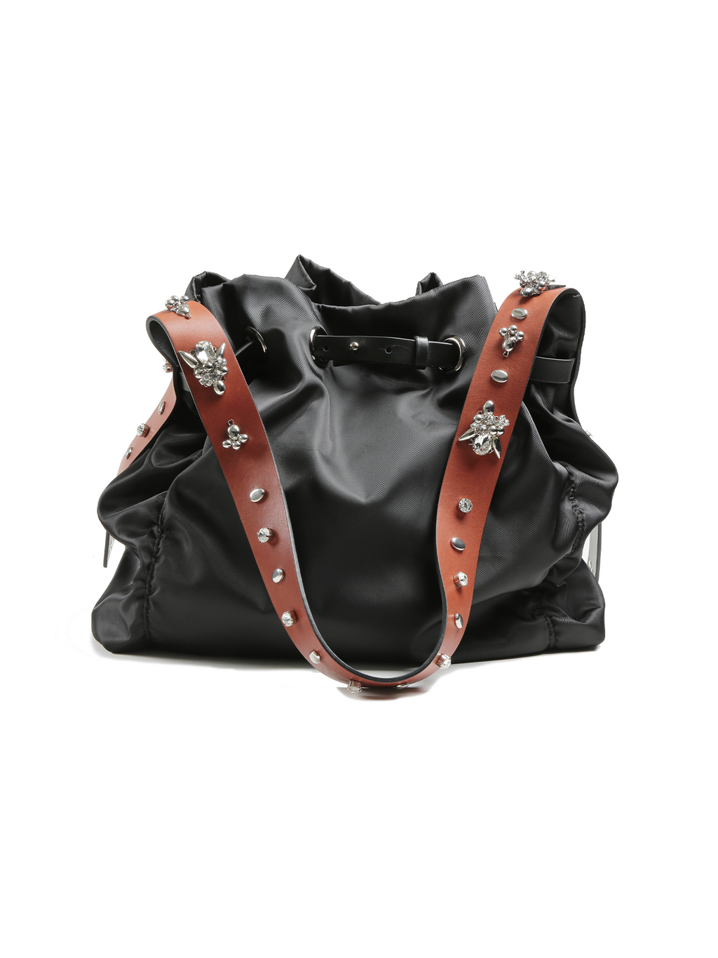 Dorothee Schumacher Jewelled Sportiness Shopper - Black/Brown