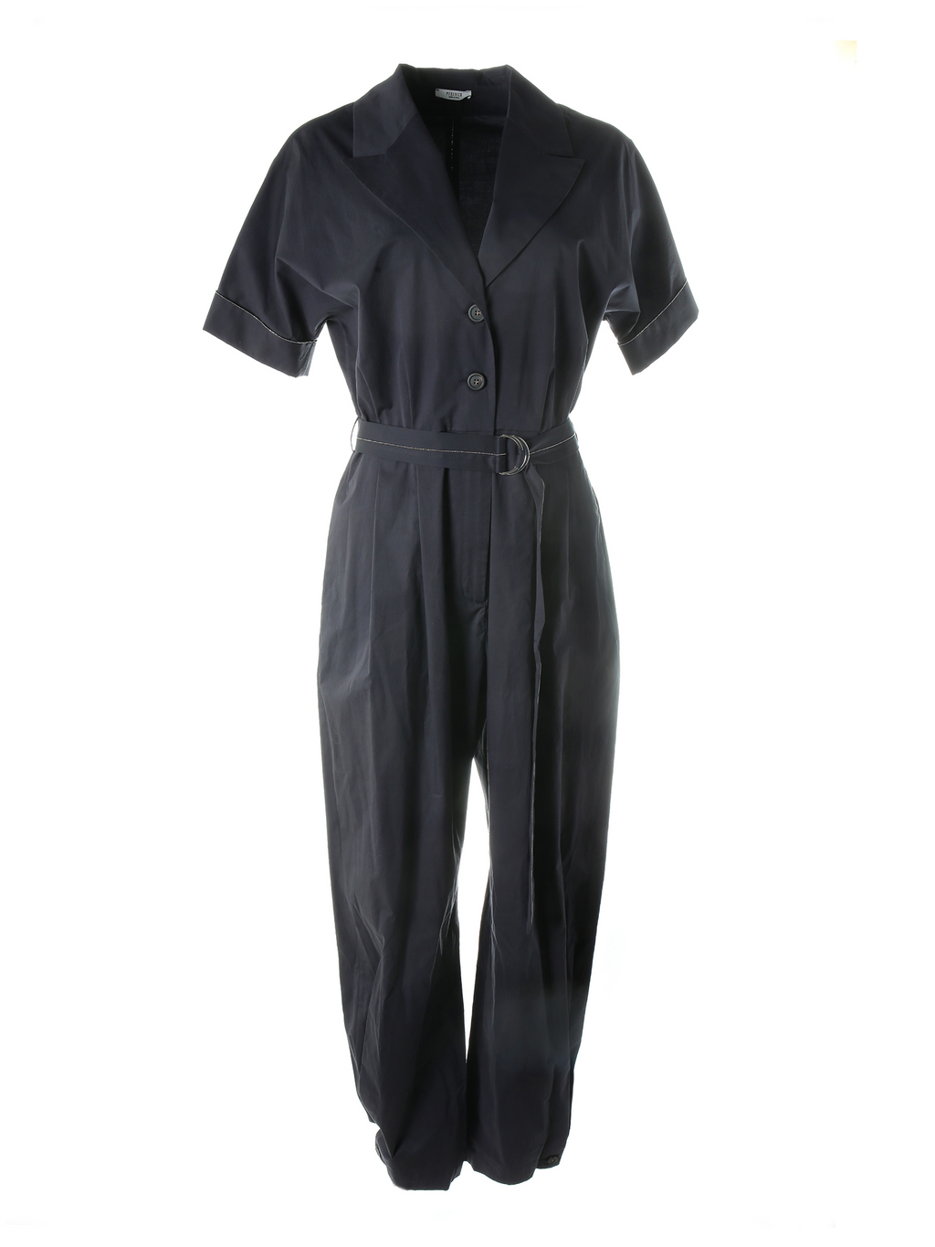 Peserico Jumpsuit with Peak Lapel