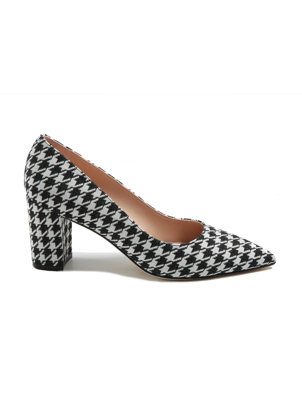 Stuart Weitzman Laney 75 Houndstooth Pump