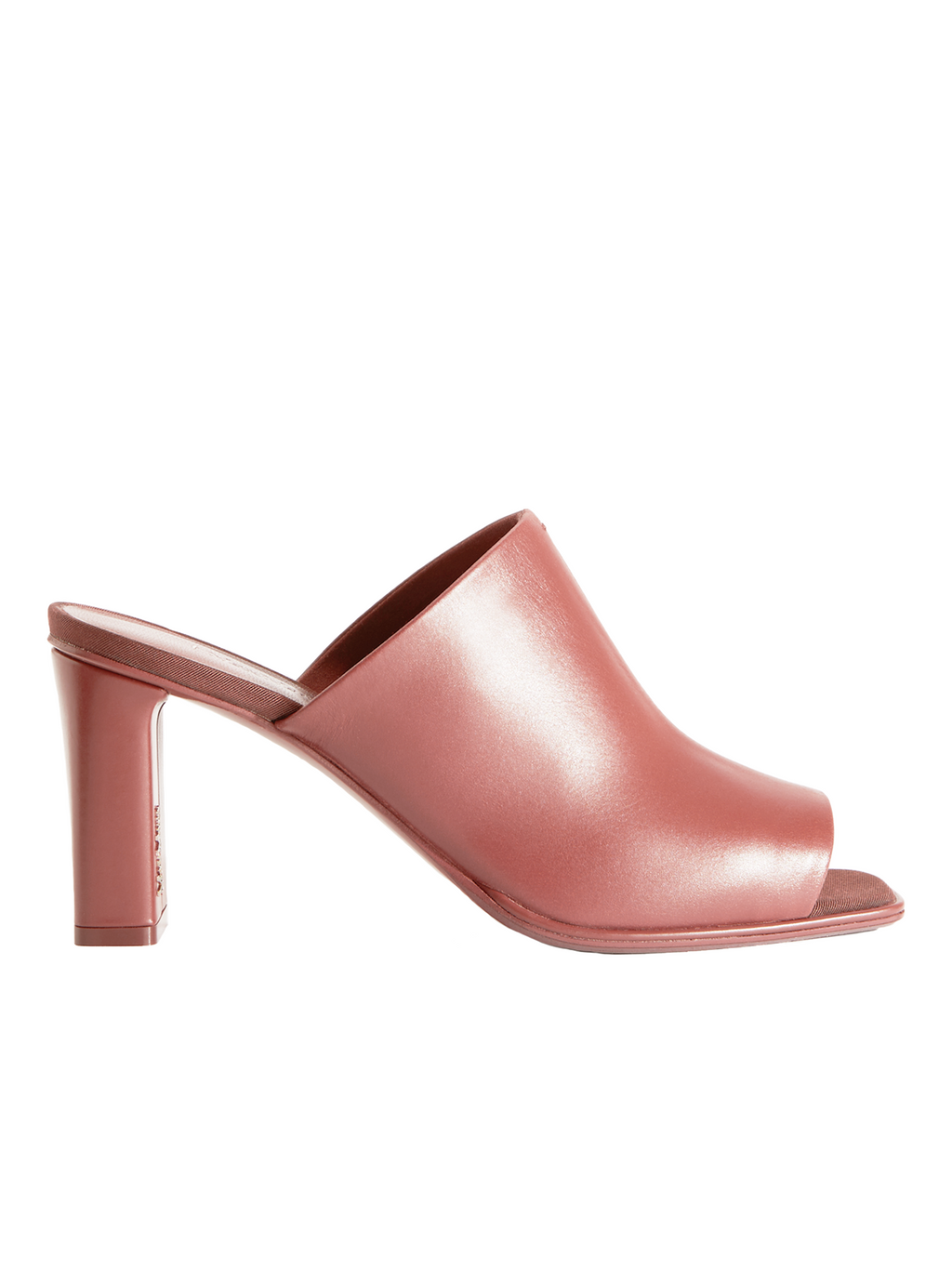 Max Mara Seline Leather Mule