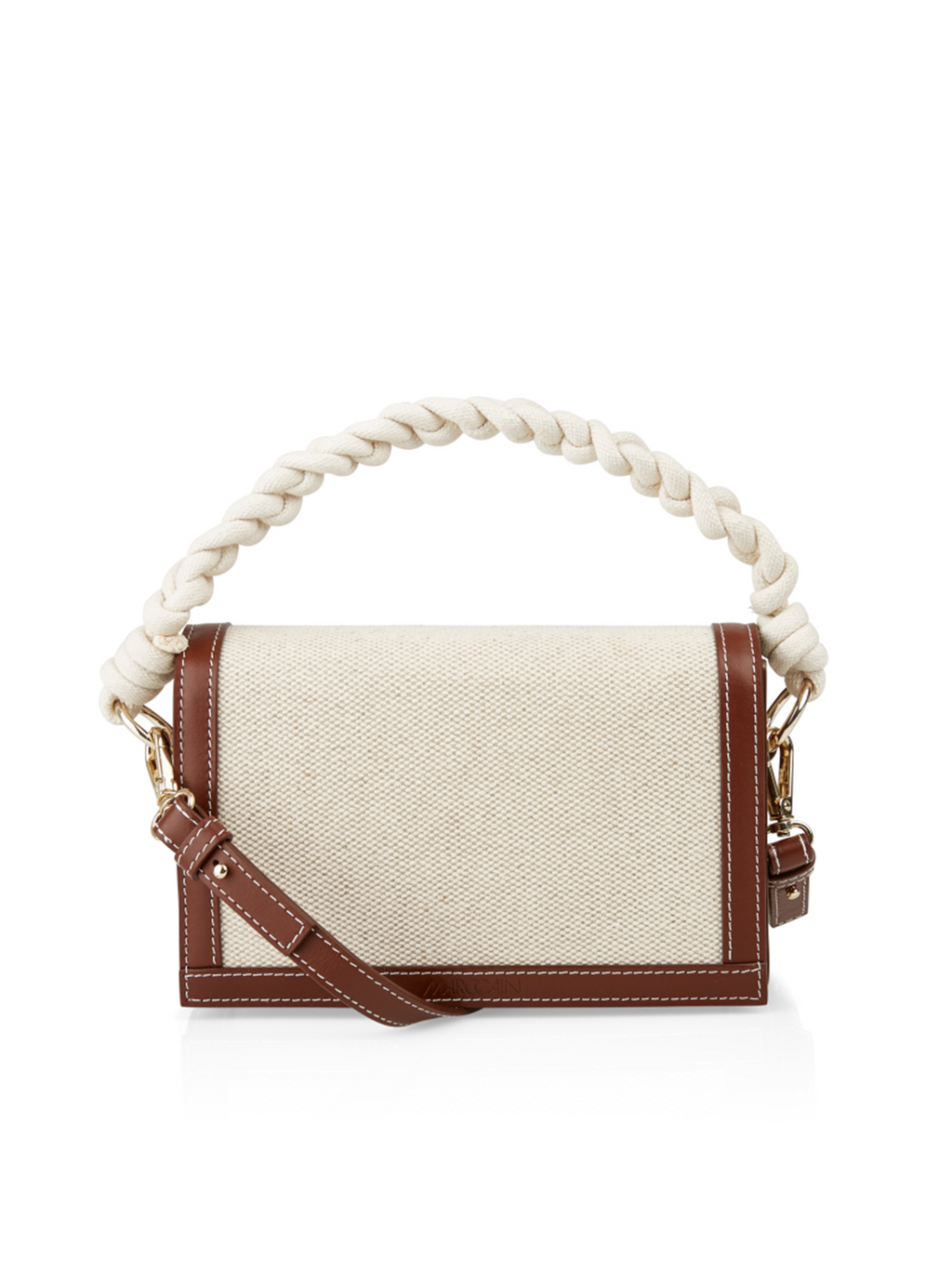 Marc Cain Cotton/Linen Shoulder Bag - Pre-Order
