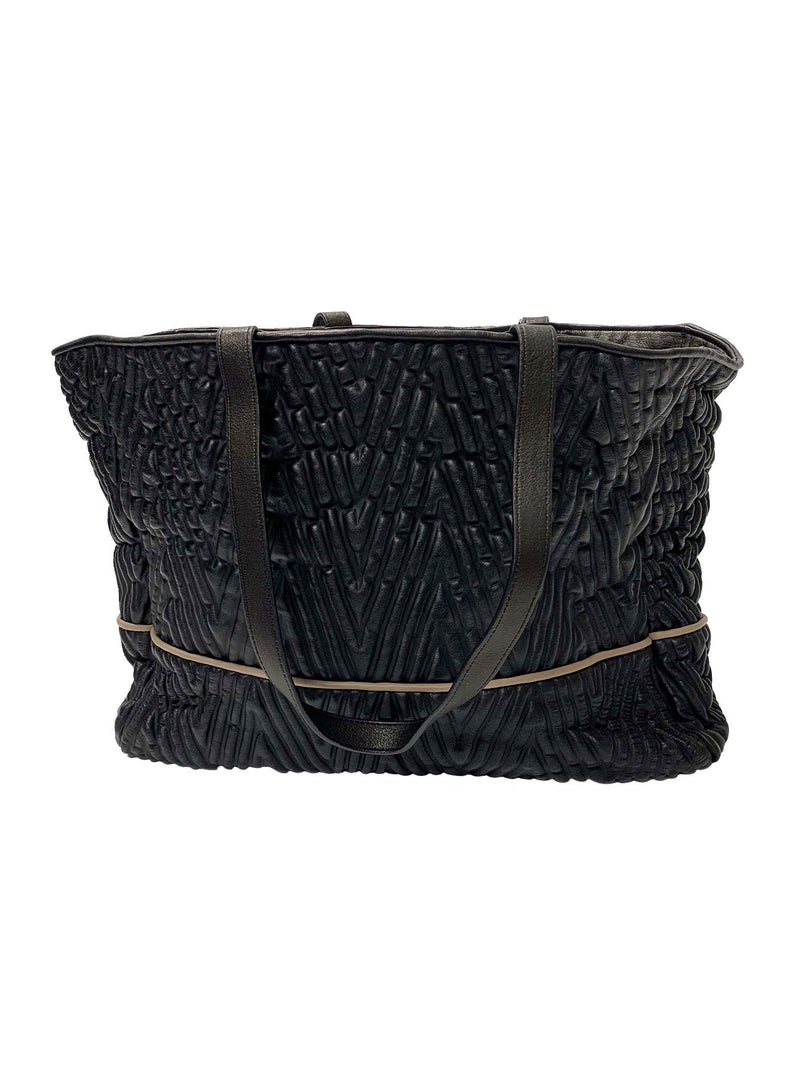Tissa Fontaneda Shopping Bag - Angel, Black