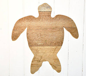 Born in a Barn - Sea Turtle Barn Wood Art