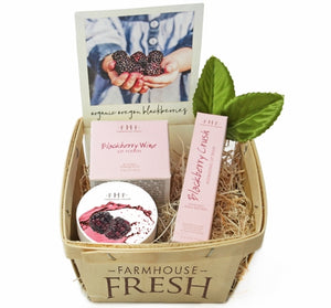 Blackberry Lip Gift Basket