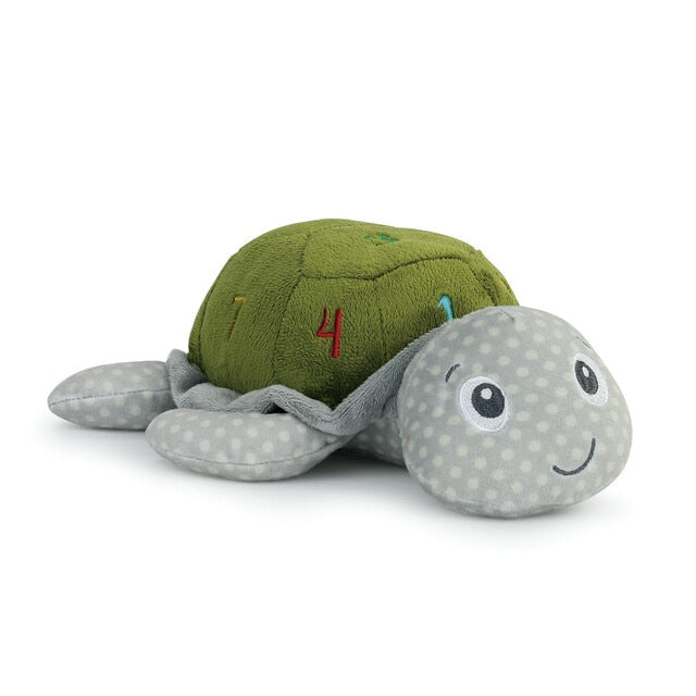 Learning Numbers Turtle Plush Mechanical Toy