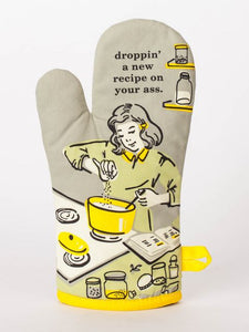 Droppin' a New Recipe Oven Mitt