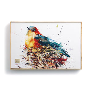 Bird in Nest Wall Art