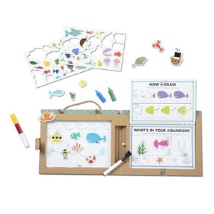 Ocean Reusable Drawing & Magnet Kit
