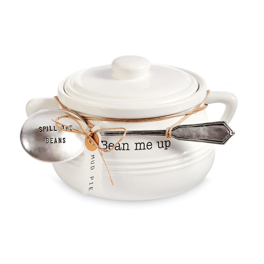 """Bean Me Up"" Baked Bean Pot Set"